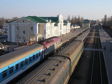 Станция Кременчуг ЮЖД