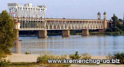 Новый мост через Днепр в Кременчуге