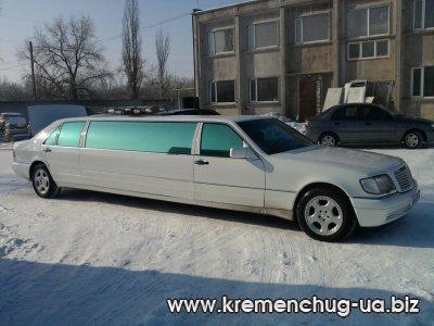 Аренда лимузина на свадьбу в Кременчуге