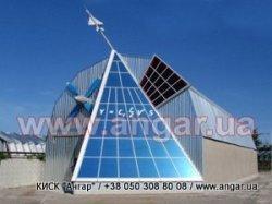 Ангар - строительство зданий арочного типа в Кременчуге